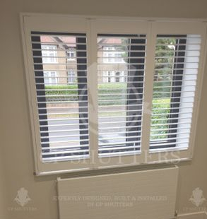 Finest quality window shutters in Essex by CP Shutters.
