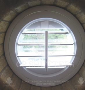 round built wooden interior window shutters brentwood