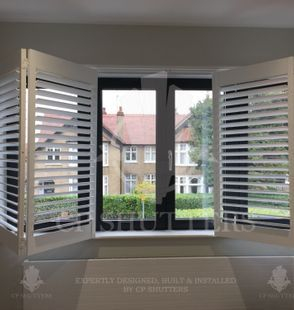 bi folding shutters fitted in shenfield cp shutters