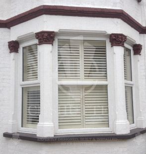 Interior wooden shutters, chelmsford essex