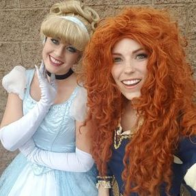ideas party birthday los angeles character company princess merida cinderella