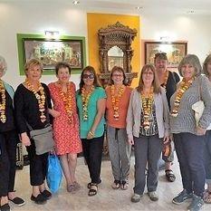 """<img src=""""australian womens travel.jpg alt=womens tours,travel group in foyer of hotel, agra, india """">"""