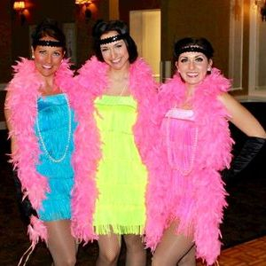 Roaring 20's Flapper Girls