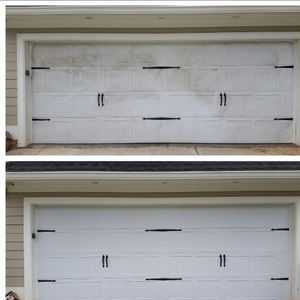 """""Pressure Washing Before & After"""