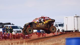 South Australia Rally Buggy Driving