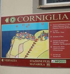 "ours.jpg alt=womens travel, welcome cornelia sign, cinque terre, italy"">"