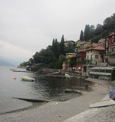 "ravel, shoreline, varenna, lake como, italy"">"