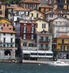"ravel, the township of varenna, lake como, italy"">"