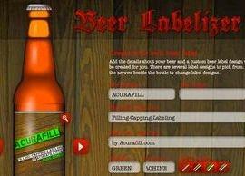 De app om zelf je bierlabels of Jam etiketten te ontwerpen