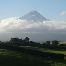 Mt Egmont on a North Island private tour