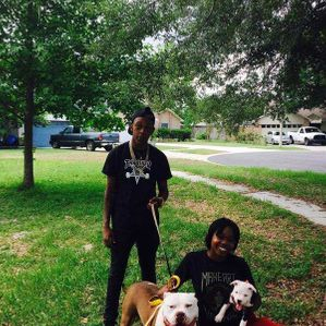 TKK CAPONE AND XL PITBULL PUPPY