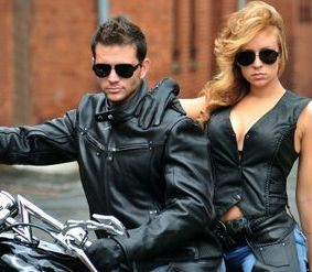 Biker Leather Jackets, Chaps, Vest Mens biker leather, womens biker leather