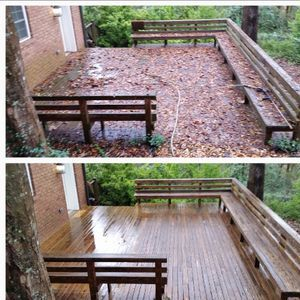 Deck Restoration with Care