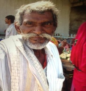 "src=""australian womens travel.jpg alt=womens travel,rajasthani man with large moustache, rajasthan , India"