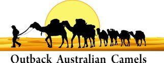 Outback Australian Camels Logo Flinders Ranges, South Australia, Camel Treks, Safaris, Tours and Camel Training in Australia