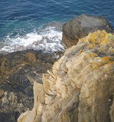 "ours.jpg alt=womens travel, rugged cliffs and sea, cinque terre, italy"">"