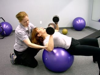 personal training at Fit & Healthy
