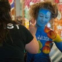 Face painting, face painter Cornwall, Penzance, Truro, Newquay, Helston
