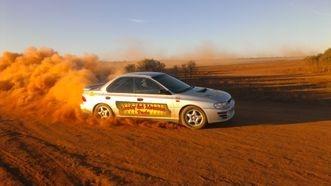 Rally Race Turbo car