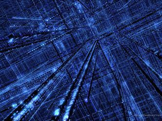 DMT trip the grid hyperspace