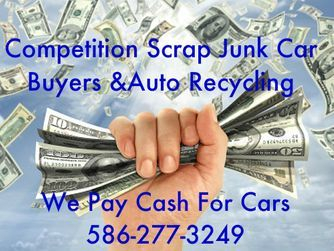 more money for junk cars, auto recycling,