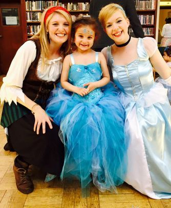 Cinderella Party - Pirates and Princess -Essex, London and Kent