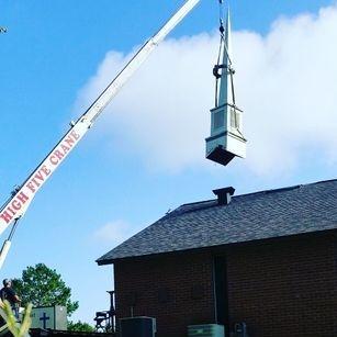 Church Steeple repairs