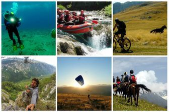 Hiking biking tours Montenegro