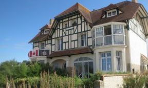 The famous house, Juno Beach, Normandy