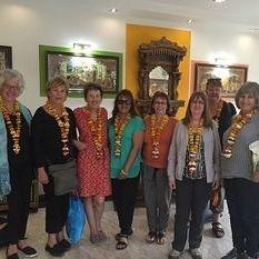 """<img src=""""australian womens travel.jpg alt=womens tours,travel group in hotel foyer varanasi, india """">"""