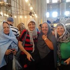 "<img src=""australian womens travel.jpg alt=womens tours,travel group wearing scarves in the blue mosque, istanbul"">"