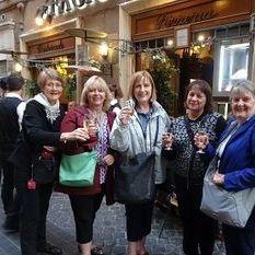"""<img src=""""australian womens travel.jpg alt=womens tours,travel group outside restaurant, rome """">"""