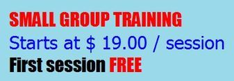 Small Group Personal Training, Price