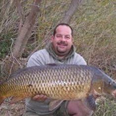 big carp fishing in the winter lower ebro