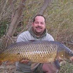 big carp fishing in the winter lower ebro