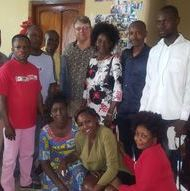Staff of ARD and The Father's House in Congo DR