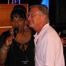 Diane & Guest singing