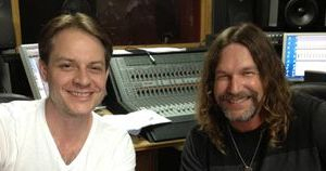 Nashville Music Producer Bill Watson with client Kerry McFate