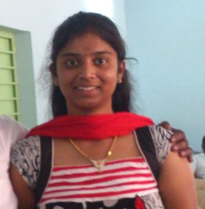 Ms. Pavithra - one of the visitors of the Project Live* Breath.