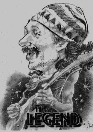 Carlos Santana!  'The Legend'