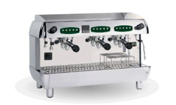 Three Group Tea espresso machine
