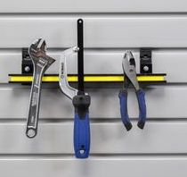 MAGNETIC TOOL HOLDER SLAT WALL