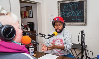 Donney Rose and Desiree Dallagiacomo co-host the spoken word podcast, Drawl.