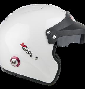 V2Sport Open face FIa MSA helmet from Vulcan Racing