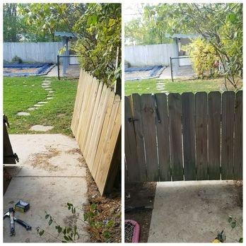 Gate repair yard barber lawn service llc