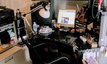 S&K beads and Charms, work studio