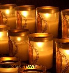 "src=""australian womens travel.jpg alt=womens travel,candle votives notre dame , paris france """