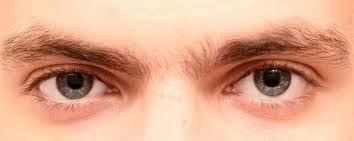 Eyes' Natural Activity : Way shown by human eyes.