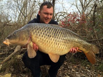 Carp fishing in spain