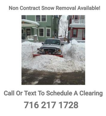 On call plowing service Yard Barber Lawn Service LLC